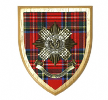 Scots Guards - Regimental Wall Plaque
